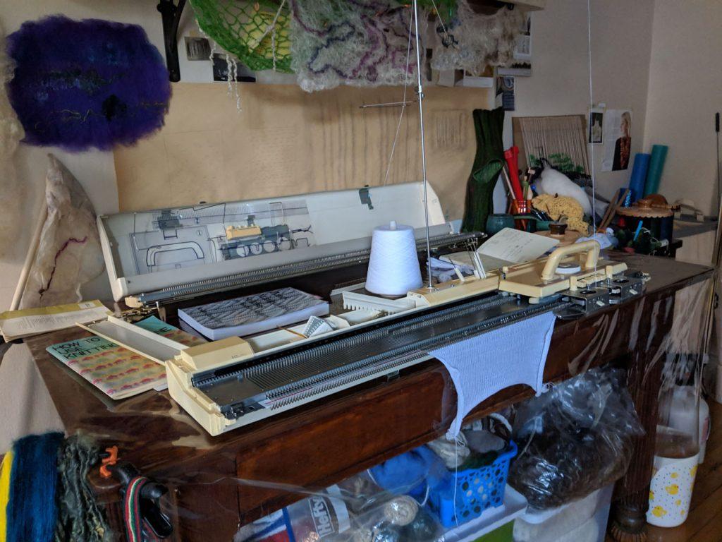 Knitting Machine Demos